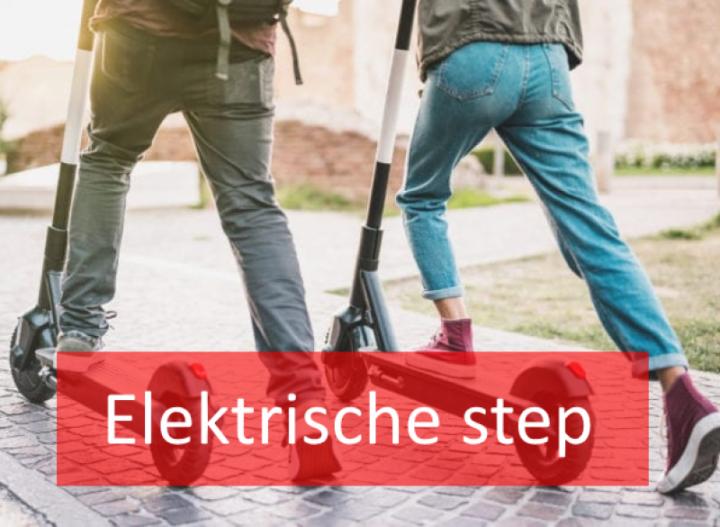 Foto elektrische step
