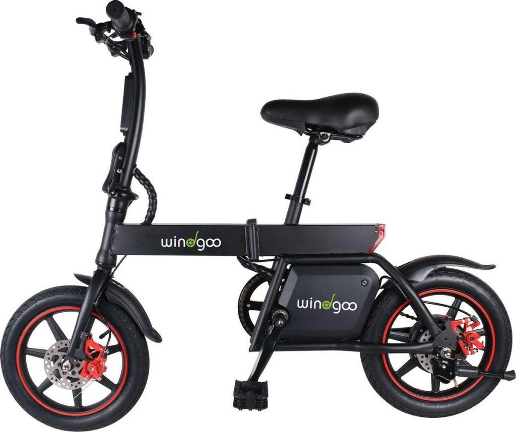Windgoo b-20 mini elektrische fiets