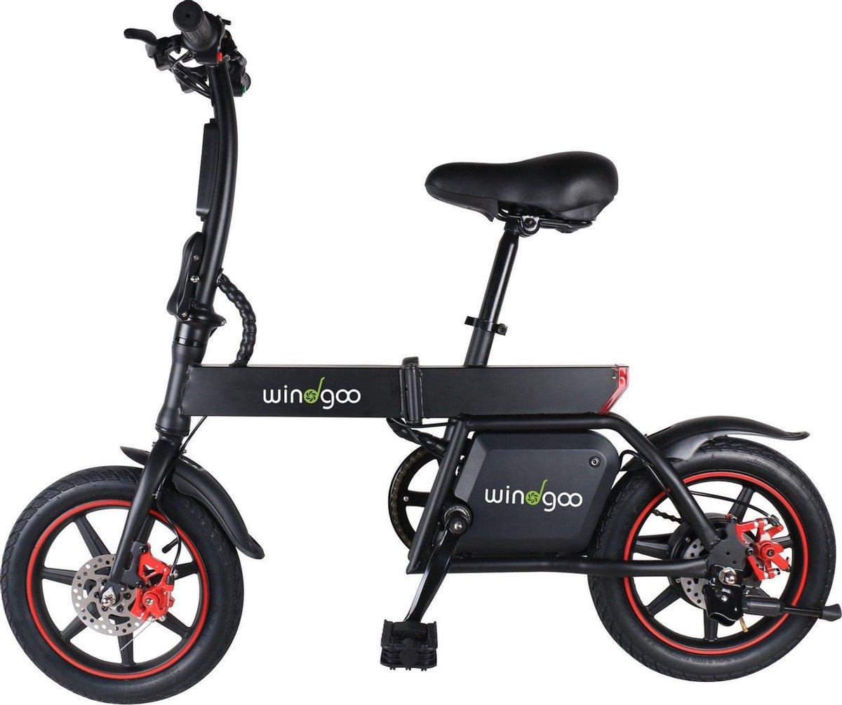 Mini elektrische fiets